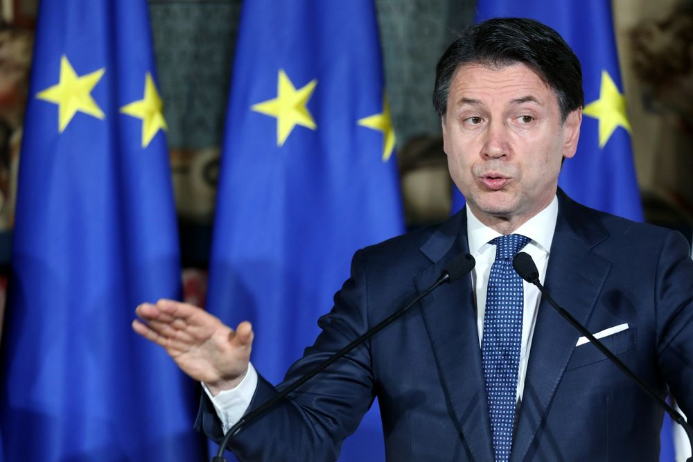 Conte Revives Big Government Spirit in Virus Battered Italy