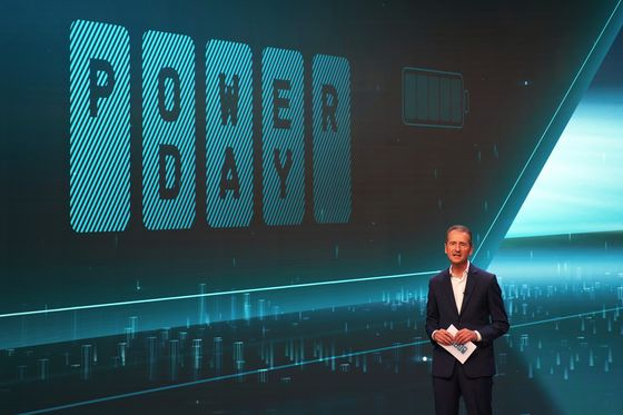 VW Plans to Be Battery Juggernaut in $29 Billion Answer to Tesla