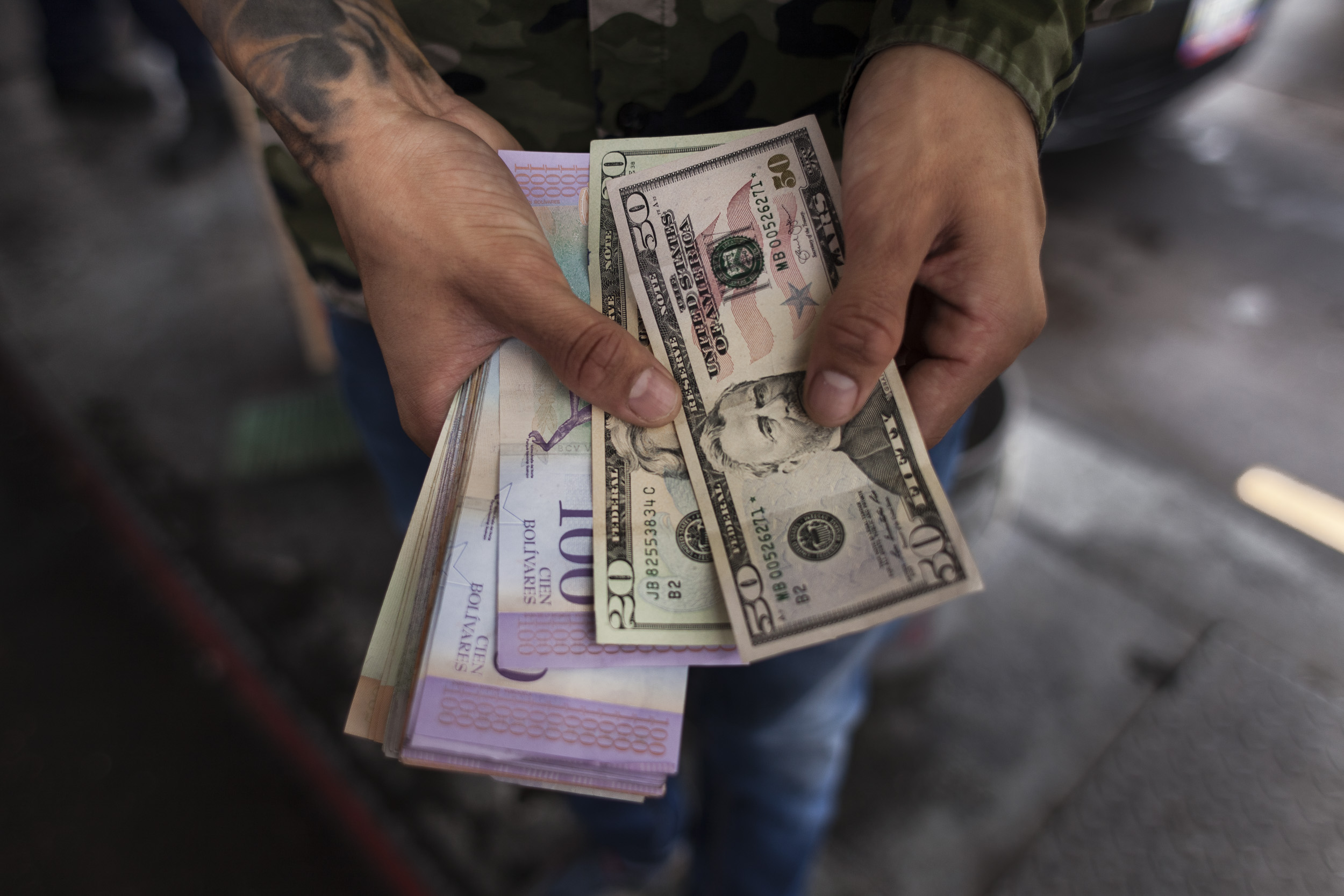 There Are More Dollars In Venezuela Now