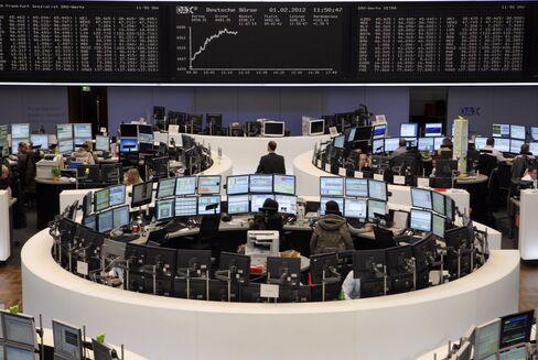 European Stocks Rise for Third Day as Xstrata Climbs