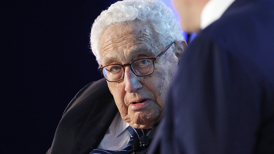 Henry Kissinger Sees U.S. and China in 'Foothills of Cold War'