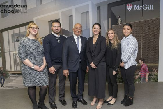 A Billionaire Starts a Retail Management School at McGill University