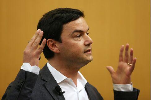 Economist And Author Thomas Piketty.