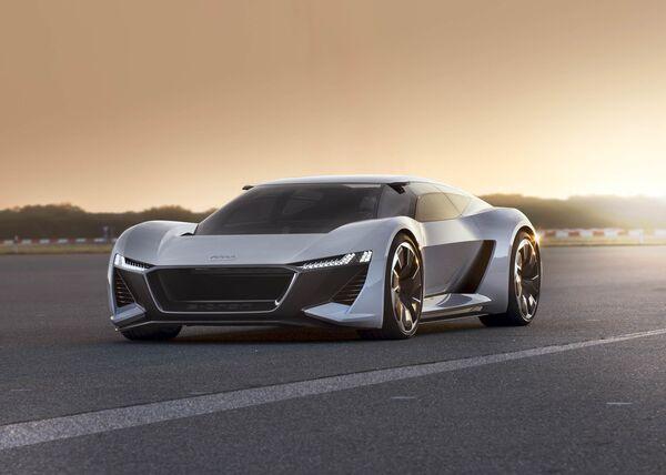 Audi Unveils Electric PB Etron Supercar During Monterey Car Week - Audi electric cars