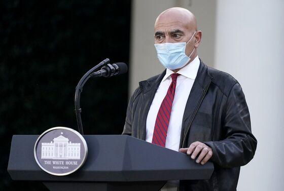 Warp Speed Adviser Slaoui Will Stay as Consultant to Biden Team