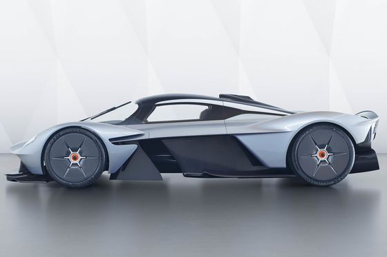 Aston Martin Building Street-Legal Version of $2.6 Million Valkyrie