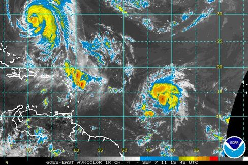 Tropical Storm Maria Is 13th of 2011
