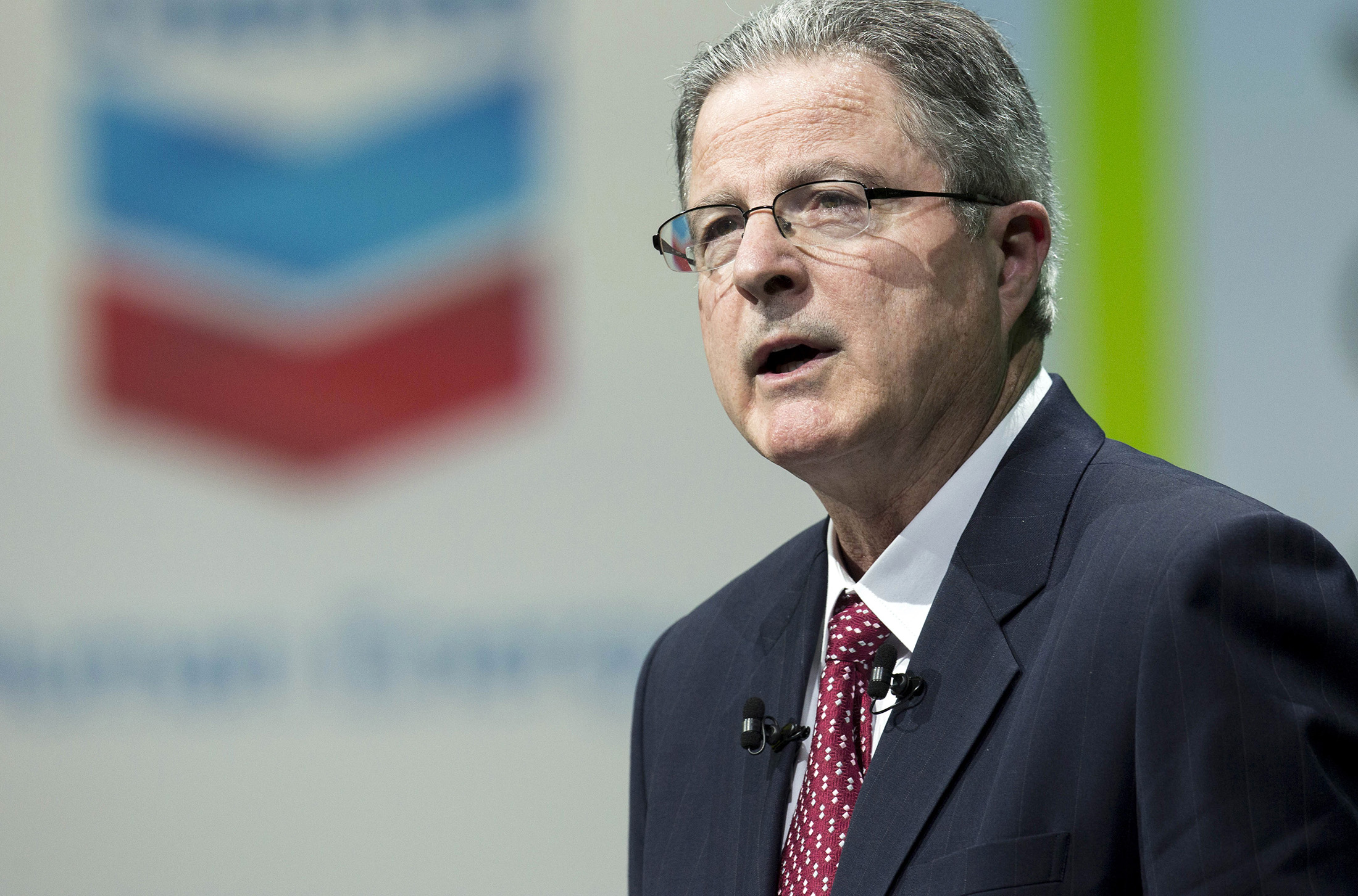 chevron ceo watson plans to step down wsj reports bloomberg