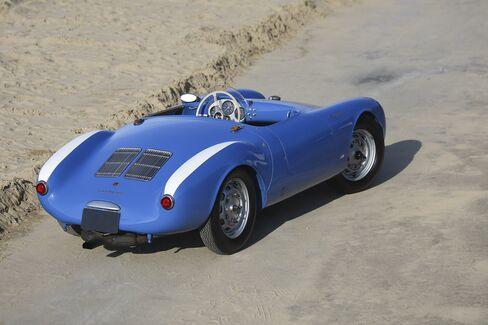 Seinfeld's 1955 Porsche 550 Spider.