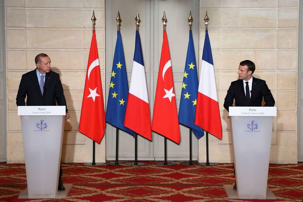 Turkey Calls France a Terrorism Host After Macron Meets