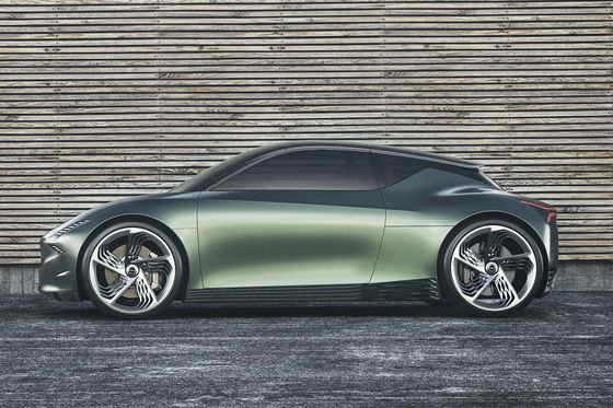 The Genesis Mint Electric Concept Argues City Driving Can Be Chic