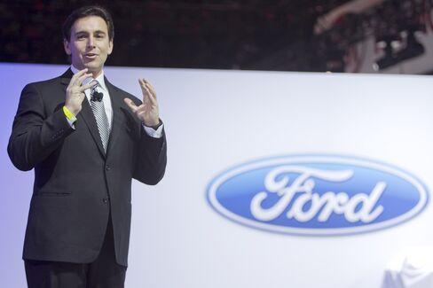 Ford Motor Co President of the Americas Mark Fields