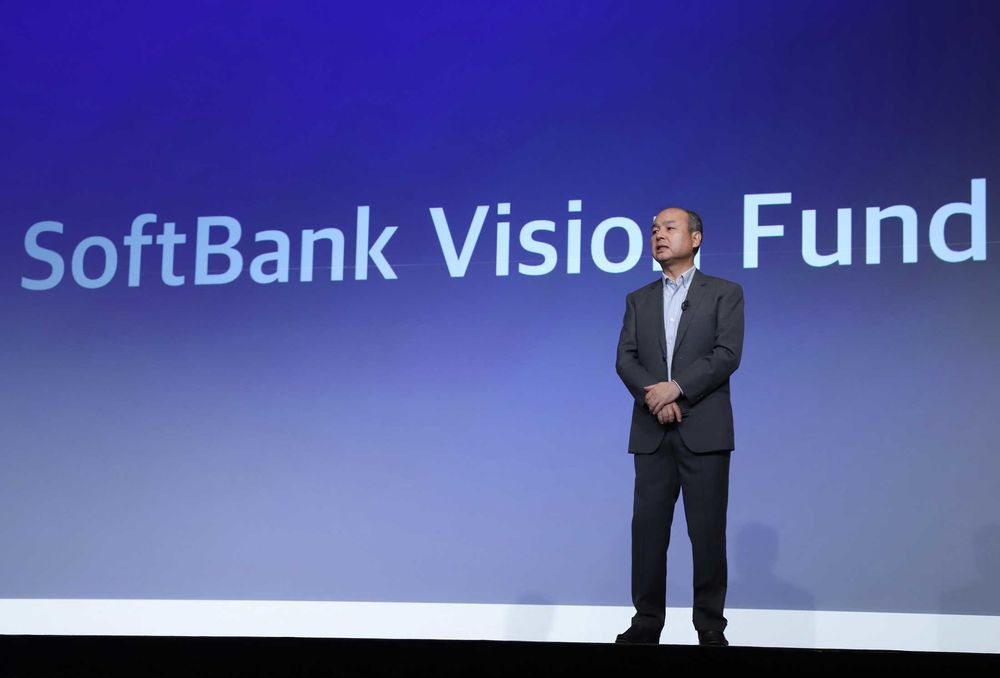 SoftBank's $100 Billion Vision Fund Is Run by These 10 Men - Bloomberg