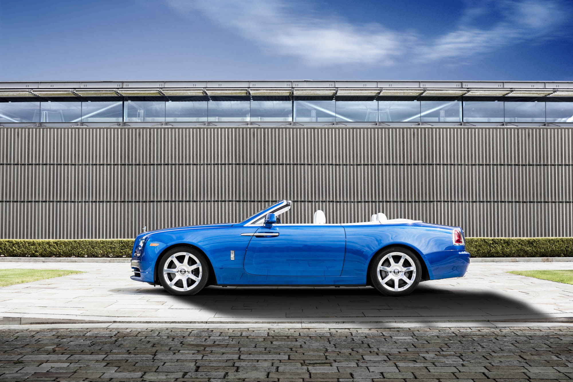 The Michael 'Fux Blue' Rolls-Royce Pebble Beach Dawn