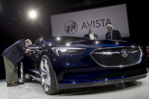 The Buick Avista concept vehicle