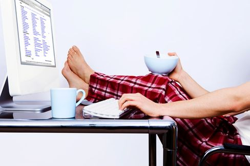 What People Really Do When They're 'Working From Home'