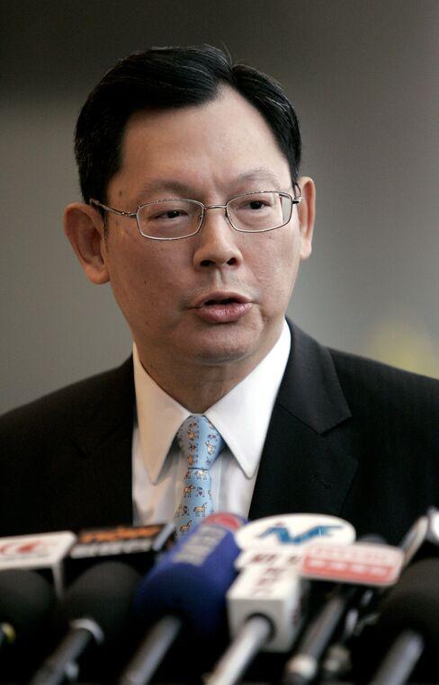Hong Kong Monetary Authority CEO Norman Chan