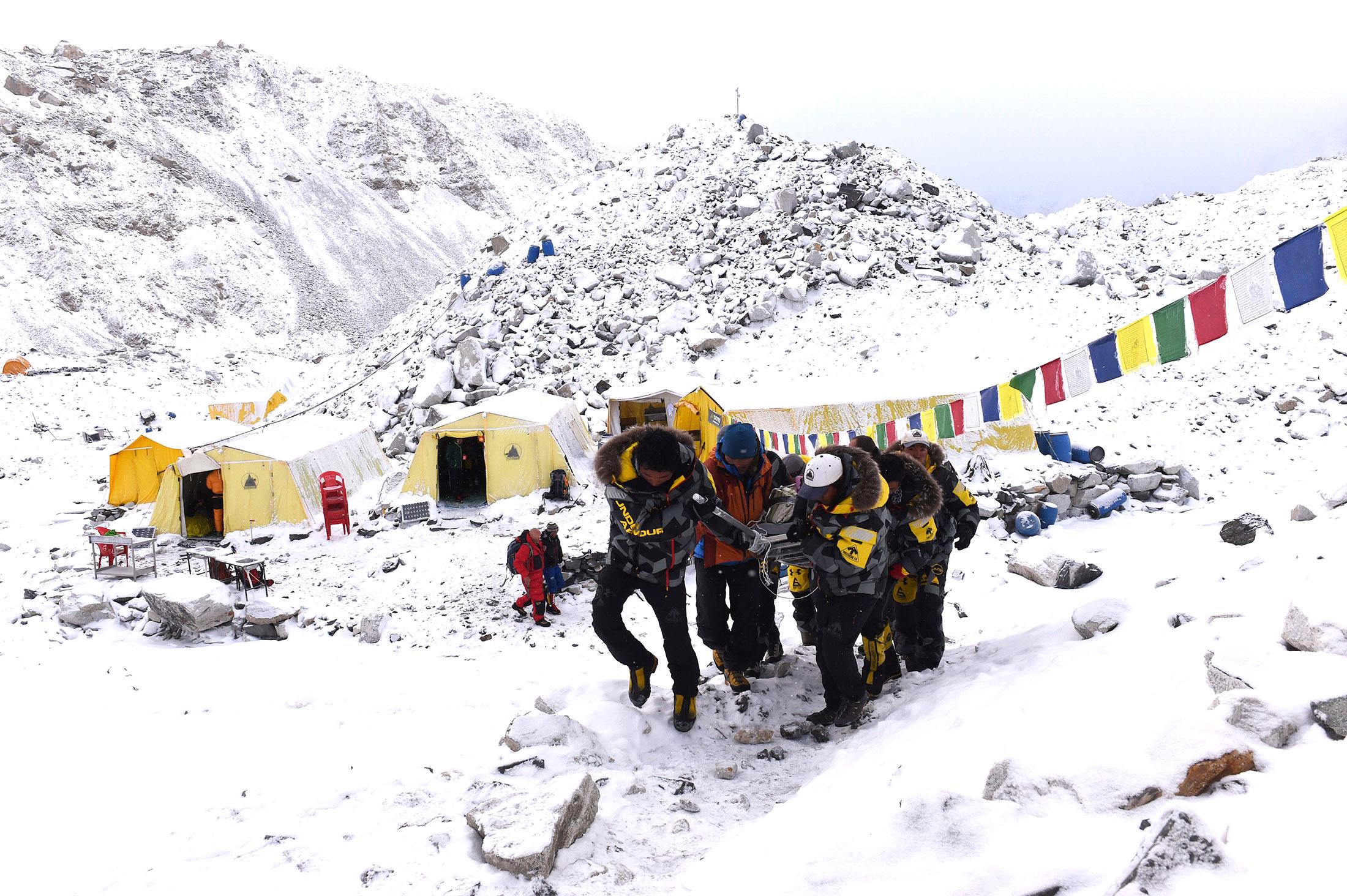 On Everest