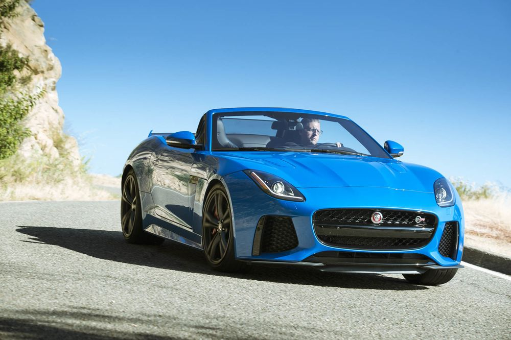 2018 jaguar f-type svr review: do you get a convertible or coupe
