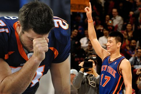 Lin vs. Tebow: Whom Does God Love More?