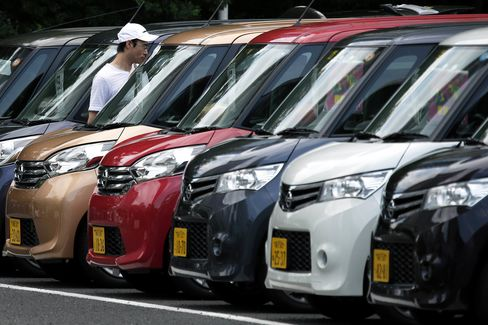 Nissan Motor Cars As The Automaker Reports 1Q Earnings