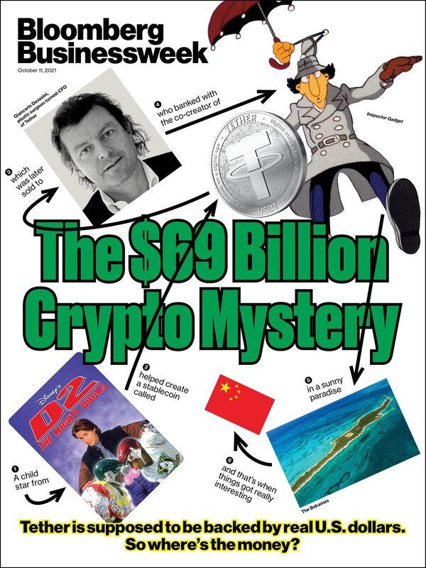 bezieht sich auf Jemand hat Tethers Milliarden gesehen?