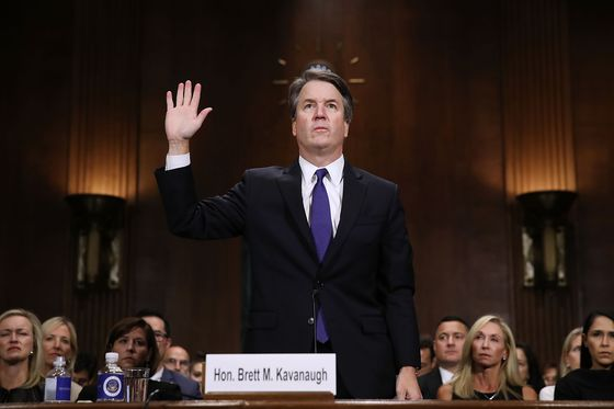 Kavanaugh's Fiery Denial Gives Republicans Cover to Vote 'Yes'