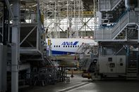 Inside All Nippon Airways Co. (ANA) Hanger Ahead of Earnings Announcement