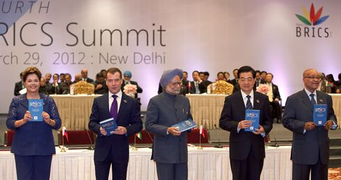 O'Neill's BRICs Risk Hitting Wall in Threat to G-20 Growth