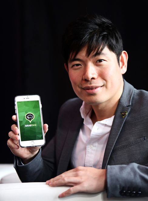 Anthony Tan, founder and group chief executive officer of GrabTaxi.