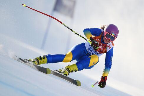 Ukrainian Skier Bohdana Matsotska