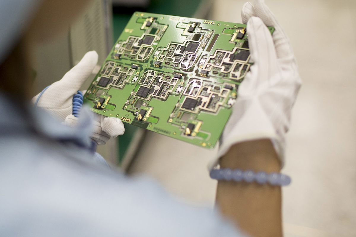 China Invites Foreign Cash to Build a World-Class Chip Industry