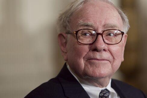 Berkshire Hathaway Inc chairman and CEO Warren Buffett