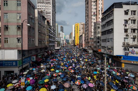 Hong Kong Braces for MoreUnrest After Saturday'sClashes