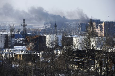Donetsk Airport Battle Continues
