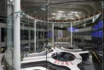 Employees work on the trading floor at the Tokyo Stock Exchange (TSE).