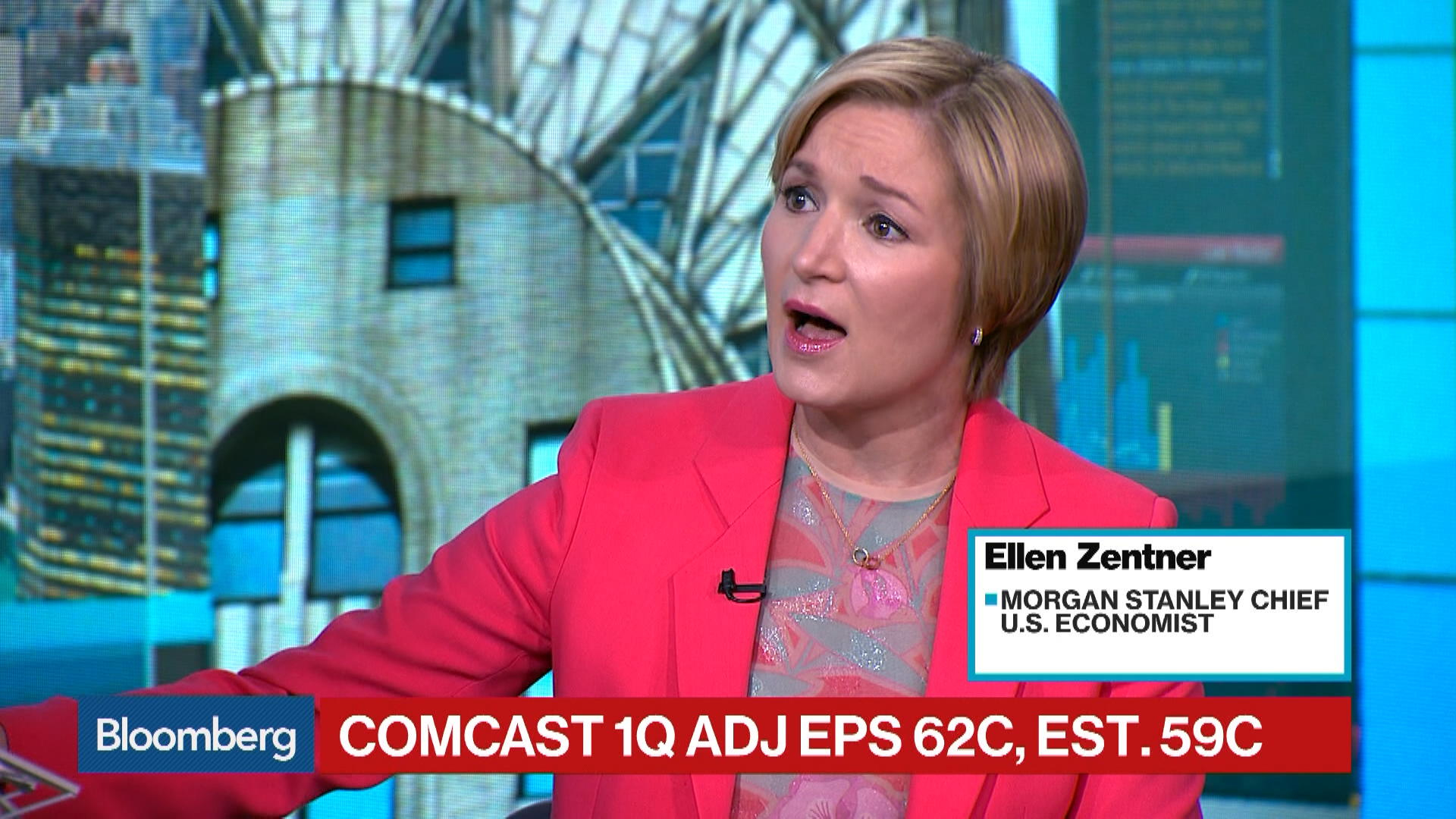 Morgan Stanley S Zentner Says Inflation Moving Higher