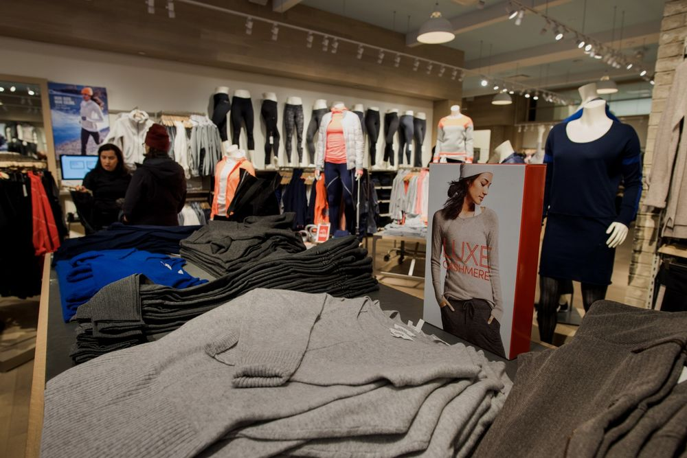 efff53d061 Inside An Athleta Store And Shoppers In SoHo Ahead Of Retail Sales Figures