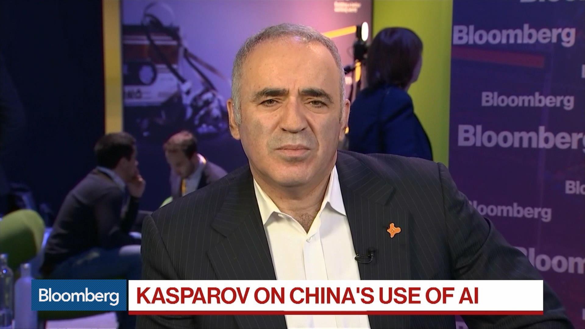 Chess Champion Garry Kasparov Warns of Chinese, Russian Data Collection