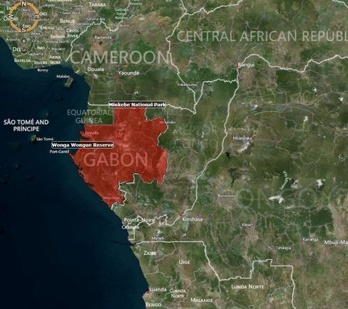 MAP: Gabon