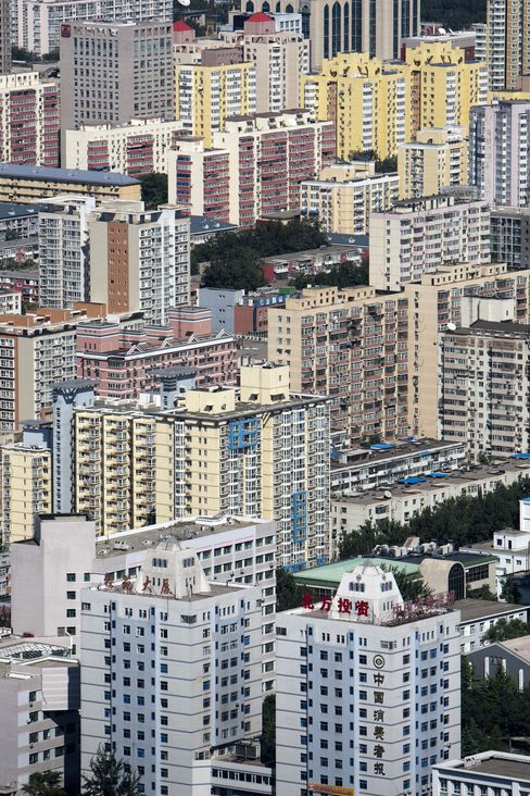 China Property Stocks Rated 'Cautious' at Nomura