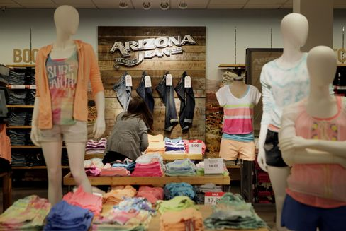 Clothing is Displayed for Sale Inside a Store in Plano