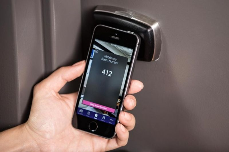 Starwood Will Soon Let You Open Hotel Doors With Your Phone & Starwood Will Soon Let You Open Hotel Doors With Your Phone - Bloomberg