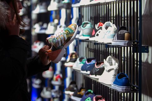 Retail Operations Inside An Adidas AG Store As Sportswear Maker Forecasts Profit