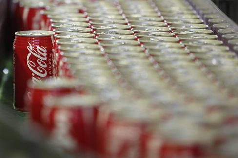 Coca-Cola, PepsiCo to Post Calorie Count on Vending Machines