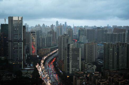 Rainstorm Hits Guangzhou, China