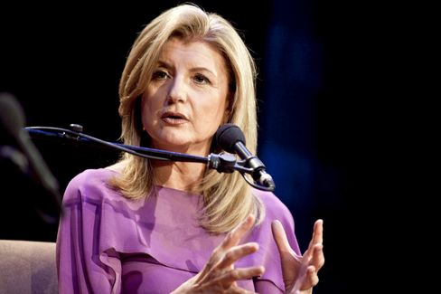 Huffington Post Founder Arianna Huffington