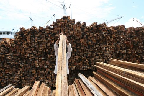 Timber in Jakarta