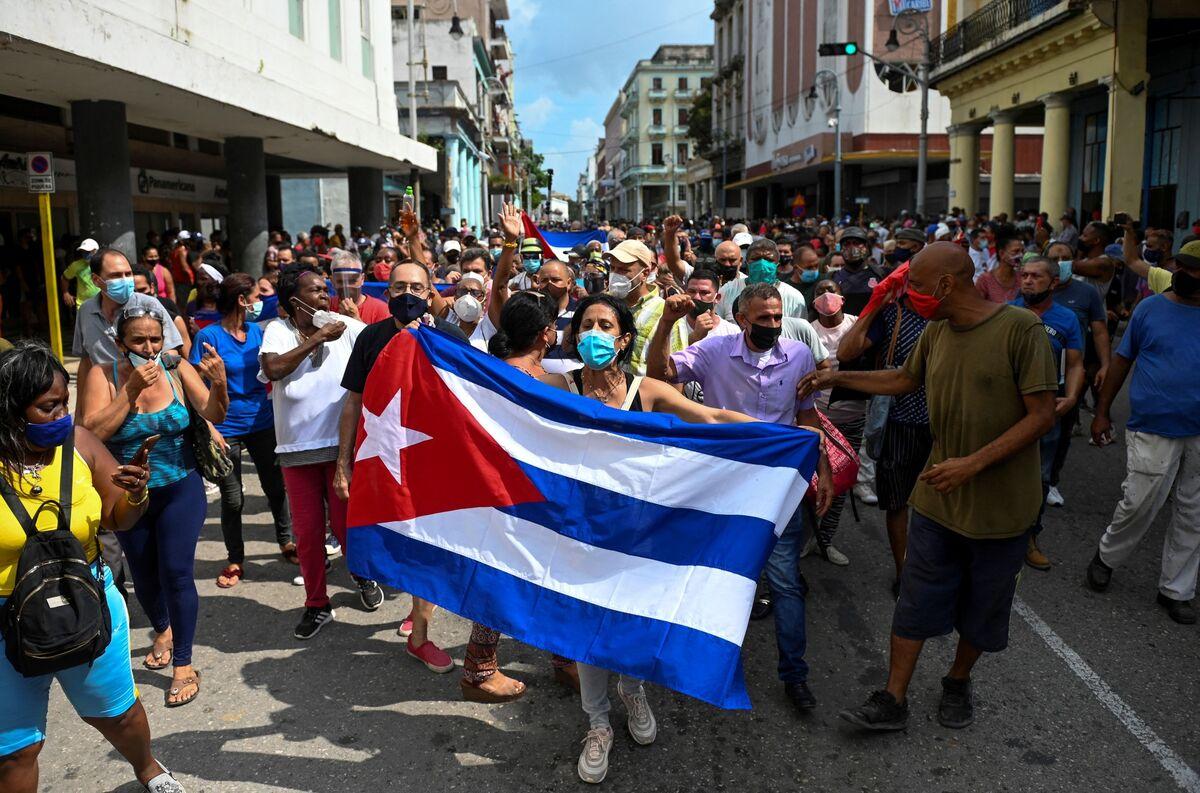Biden Says Cuba Sanctions 'Just the Beginning' After Crackdown