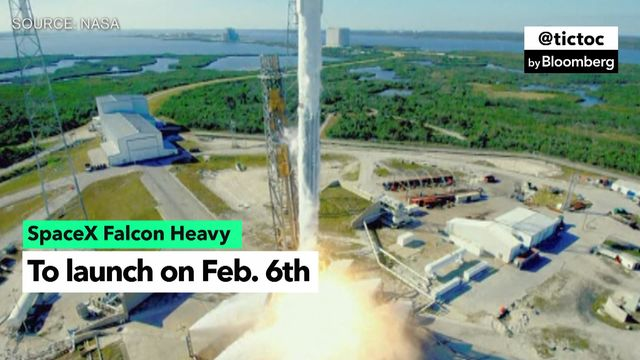 SpaceX's New Beast of a Rocket, the Falcon Heavy, Is Ready to Launch